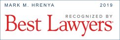 Mark M. Hrenya Best Lawyers 2019 Badge